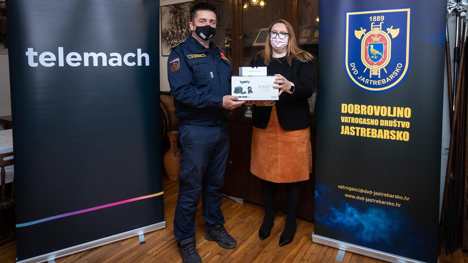 Donacija drona Dobrovoljnom vatrogasnom društvu Jastrebarsko